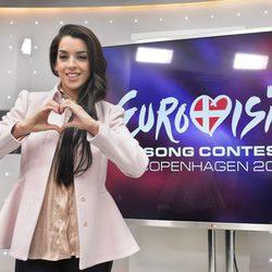 Ruth Lorenzo, representante de España en el Festival de Eurovisión 2014