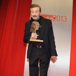Juan Diego recibe el premio de honor de los Fotogramas de Plata 2013