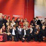 Ganadores y presentadores de los Fotogramas de Plata 2013