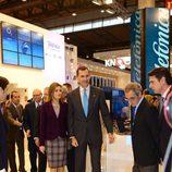 Los Príncipes de Asturias en el Congreso Mundial del Móvil de la GSMA