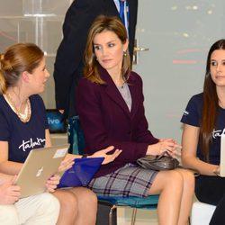 La Princesa Letizia en el Congreso Mundial del Móvil de la GSMA