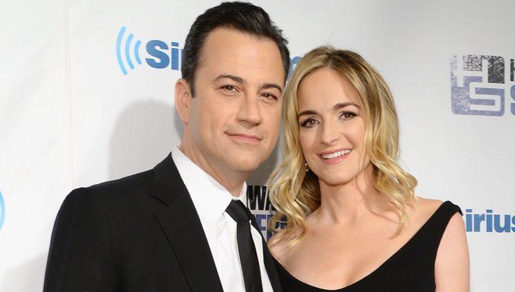 Jimmy Kimmel y Molly McNearney