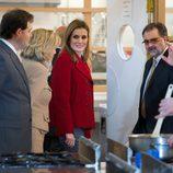 La Princesa Letizia en la Universidad Laboral de Albacete