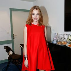 Natalia Vodianova en el desfile de Etam en la Paris Fashion Week 2014