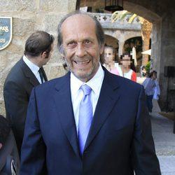 Paco de Lucía en la boda de Alejandro Sanz y Raquel Perera
