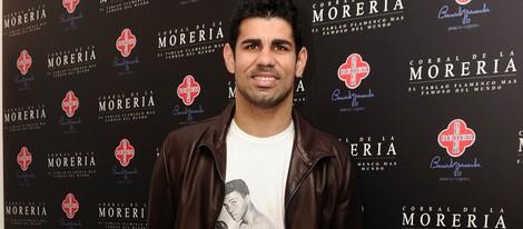 Diego Costa en los Premios Pata Negra 2014