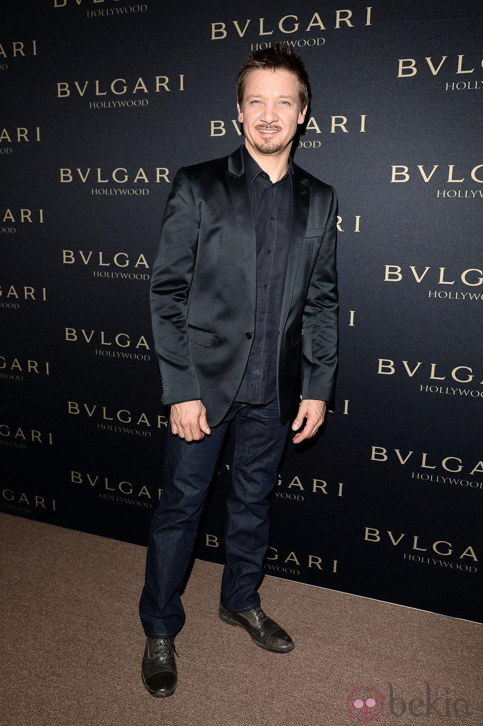 Jeremy Renner en la fiesta de Bulgari 'Decades of Glamour'
