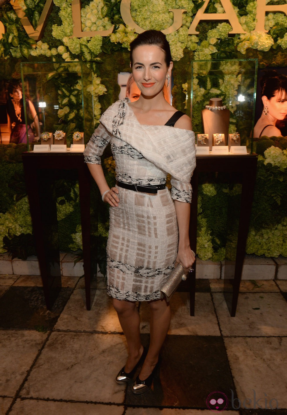 Camilla Belle en la fiesta de Bulgari 'Decades of Glamour'