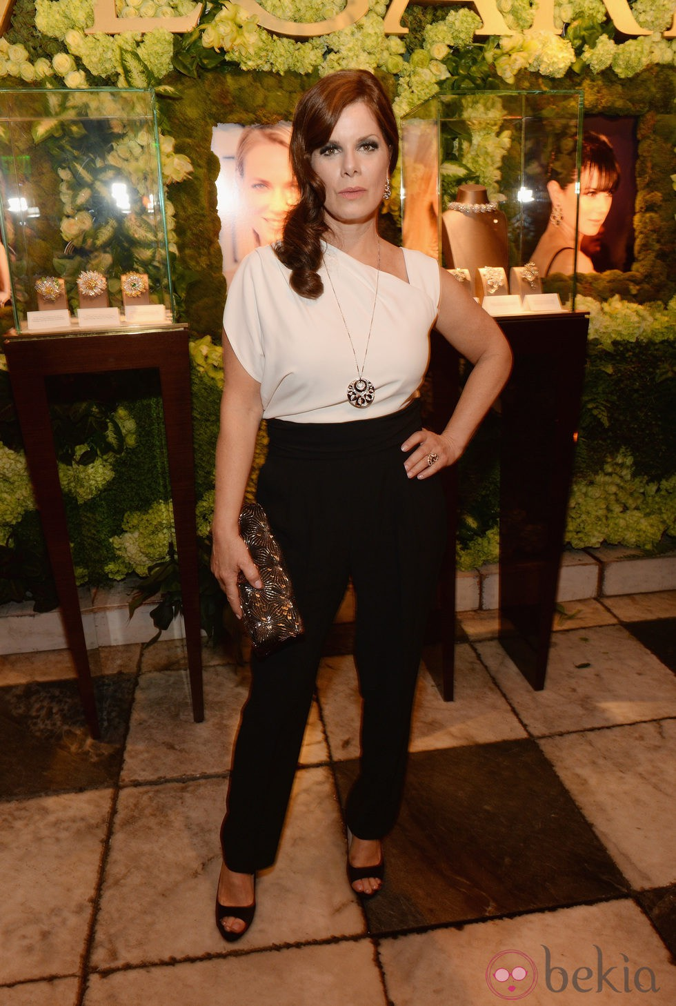 Marcia Gay Harden en la fiesta de Bulgari 'Decades of Glamour'