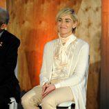 Sharon Stone en un acto organizado por la Fundación Lourdes en Los Angeles para conocer al Dalai Lama