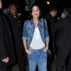 Leigh Lezark en el desfile de H&M en la Semana de la Moda de París 2014