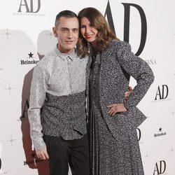 David Delfín y Ana García Siñeriz en los Premios AD 2014