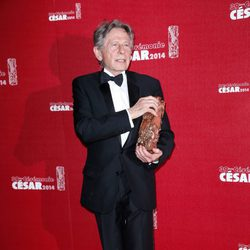 Roman Polanski en los Premios César 2014