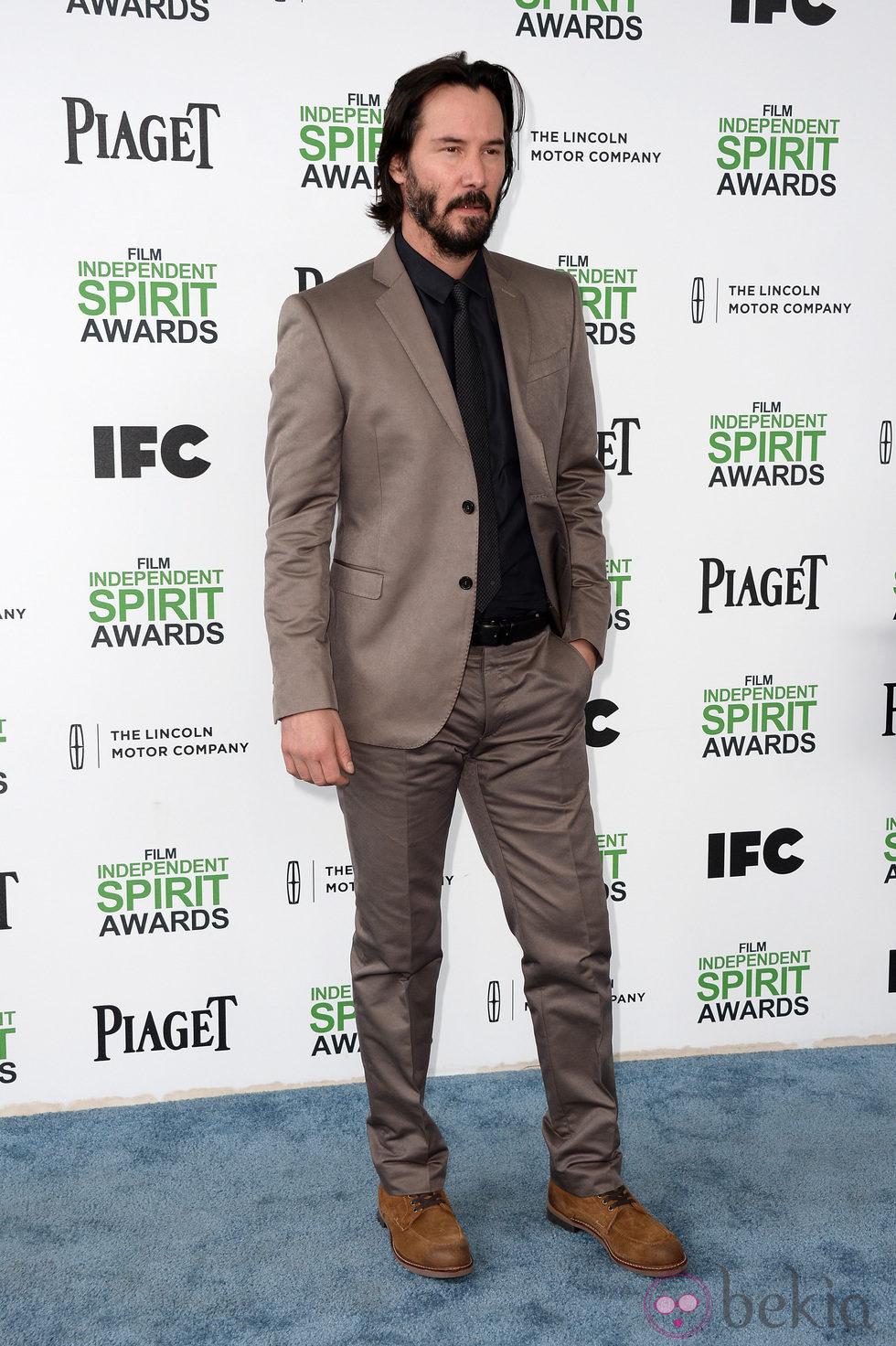Keanu Reeves en los Independent Spirit Awards 2014