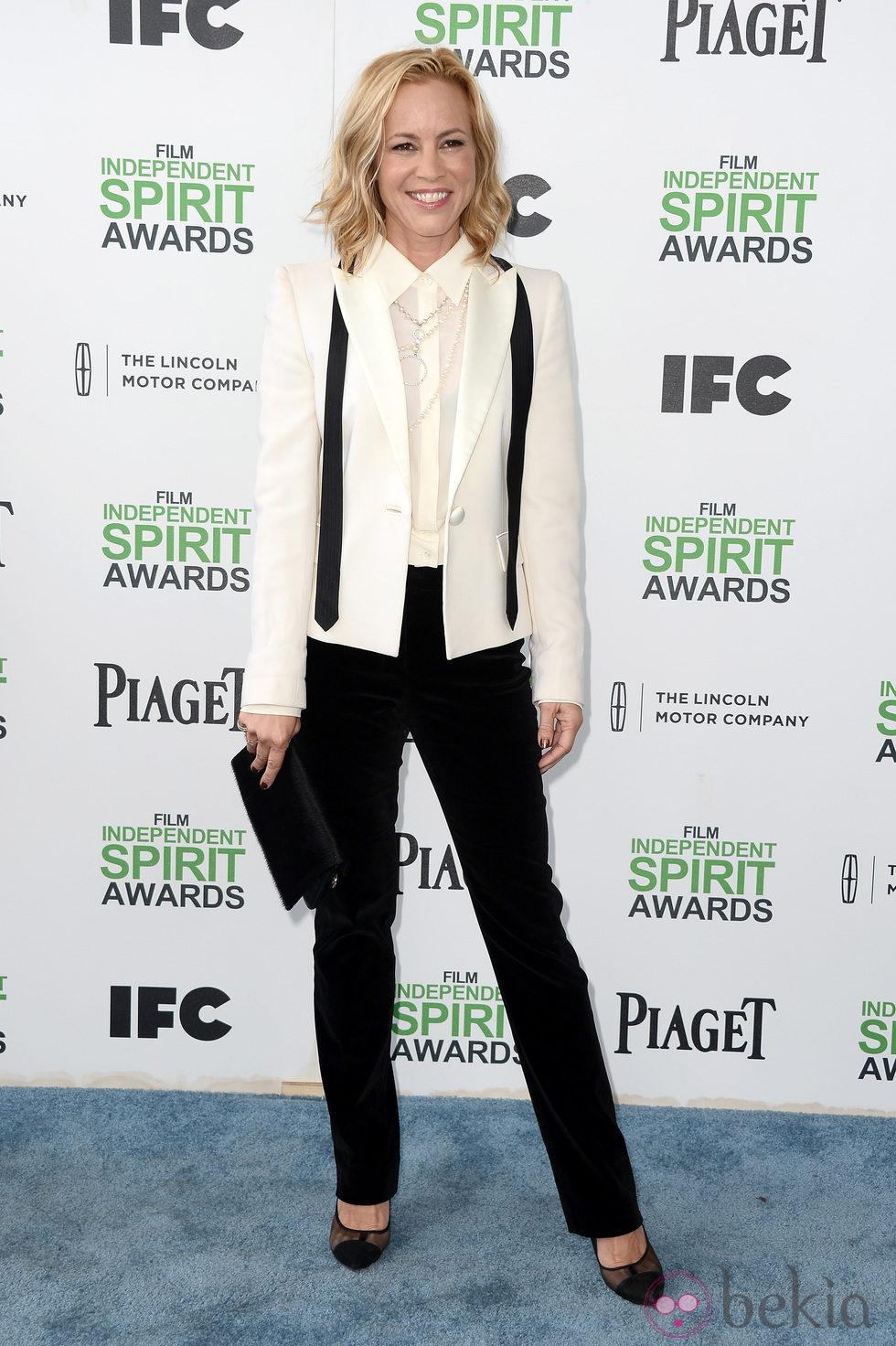 Maria Bello en los Independent Spirit Awards 2014