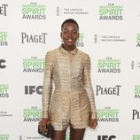 Lupita Nyong'o en los Independent Spirit Awards 2014