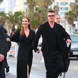 Brad Pitt y Angelina Jolie en los Spirit Awards 2014