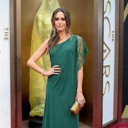 Louise Roe en los Premios Oscar 2014