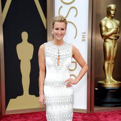 Lara Spencer en la alfombra roja de los Oscar 2014