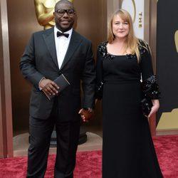 Steve McQueen en la alfombra roja de los Oscar 2014