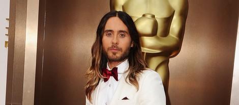 Jared Leto en la alfombra roja de los Oscar 2014