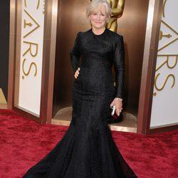 Glenn Close en la alfombra roja de los Oscars 2014