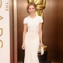 Calista Flockhart en la alfombra roja de los Oscar 2014