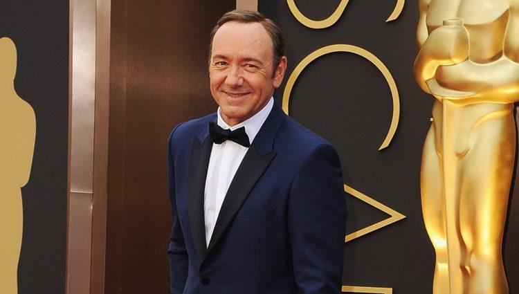 Kevin Spacey en los Premios Oscar 2014