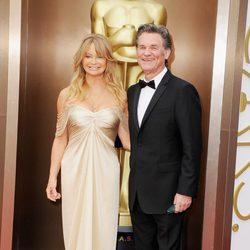 Goldie Hawn y Kurt Russell en los Oscar 2014