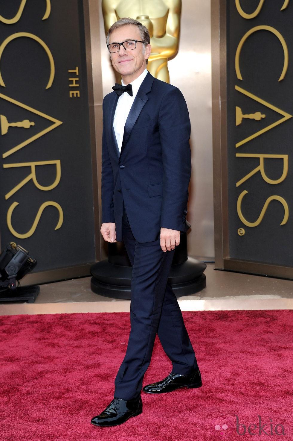 Christoph Waltz en los Oscar 2014