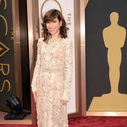 Sally Hawkins en la alfombra roja de los Oscar 2014