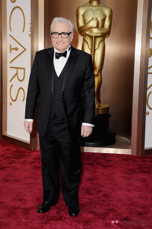 Martin Scorsese en los Premios Oscar 2014