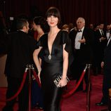 Karen O en la alfombra roja de los premios Oscar 2014
