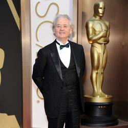 Bill Murray en la alfombra roja de los Oscar 2014