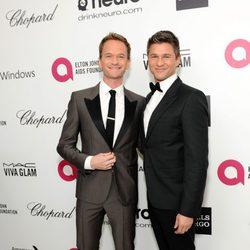 Neil Patrick Harris y David Burtka en la fiesta post Oscar 2014 organizada por Elton John