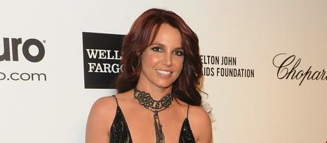 Britney Spears en la fiesta post Oscar 2014 organizada por Elton John