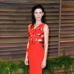 Liberty Ross en la fiesta Vanity Fair tras los Oscar 2014