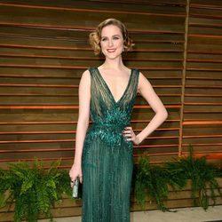 Evan Rachel Wood en la fiesta Vanity Fair tras los Oscar 2014