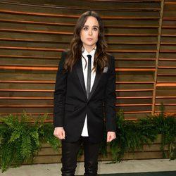 Ellen Page en la fiesta Vanity Fair tras los Oscar 2014