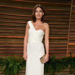 Alyssa Miller en la fiesta Vanity Fair tras los Oscar 2014