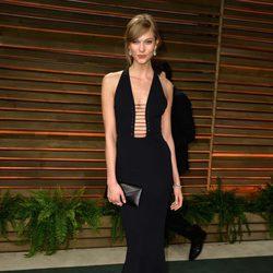 Karlie Kloss en la fiesta Vanity Fair tras los Oscar 2014