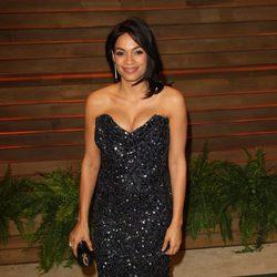 Rosario Dawson en la fiesta Vanity Fair tras los Oscar 2014