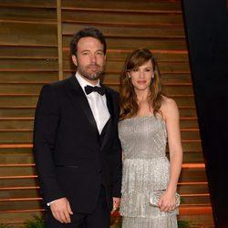 Ben Affleck y Jennifer Garner en la fiesta Vanity Fair tras los Oscar 2014
