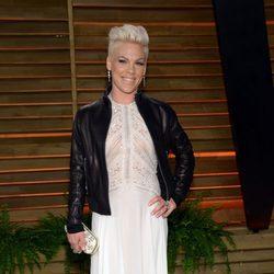 Pink en la fiesta Vanity Fair tras los Oscar 2014