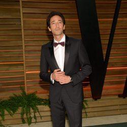 Adrien Brody en la fiesta Vanity Fair en los Oscar 2014