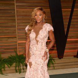 Serena Williams en la fiesta Vanity Fair en los Oscar 2014
