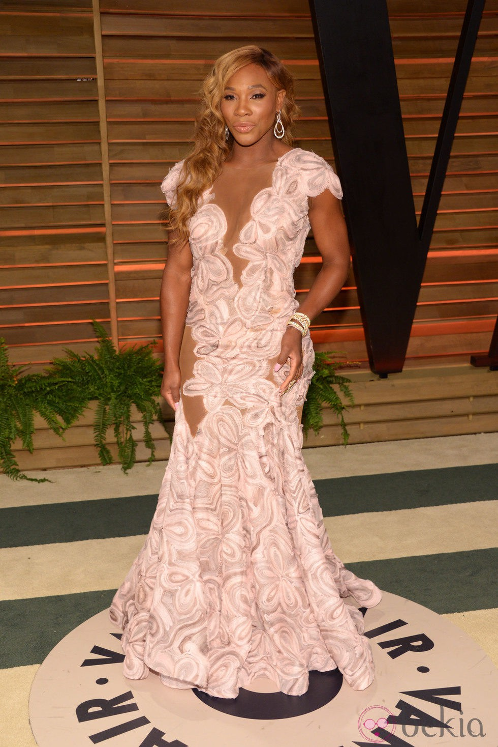 Serena Williams en la fiesta Vanity Fair en los Oscar 2014