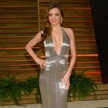 Miranda Kerr en la fiesta Vanity Fair en los Oscar 2014