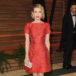 Emma Roberts en la fiesta Vanity Fair en los Oscar 2014