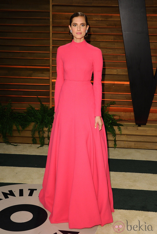 Allison Williams en la fiesta Vanity Fair tras los Oscar 2014
